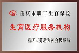 重庆职工生育保险医疗服务机构