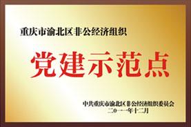 重庆市渝北区非公经济组织党建示范点