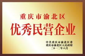 重庆市渝北区优秀民营企业