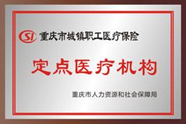重庆城镇职工基本医疗保险定点医疗机构